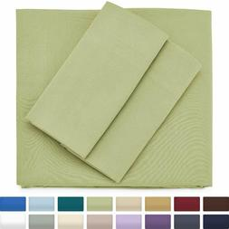 Cosy House Collection Luxury Bamboo Bed Sheet Set - Hypoalle