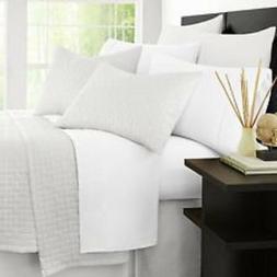 Zen Bamboo Luxury 1500 Series Bed Sheets -Full 4 Piece Brush