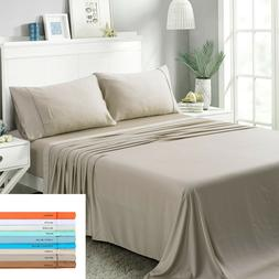 Angel 100% MOSO Bamboo 4 Pieces SET Bedding sheet 1600 count