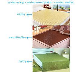 Bamboo bed mat Mahjong like mat sheet rug or floor mat carpe