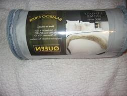 Bamboo-Blend Luxury Home Ultra Soft Sheet Set Queen light Gr