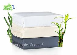 BAMBOO DUVET COVER SET 100% BAMBOO 320tc Ivory Color ~ KING