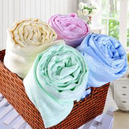 Blanket Bamboo cool soft towel throws Air conditioning quilt