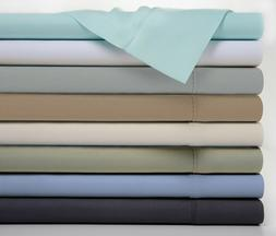 Bamboo Luxury 1800 Count 4 Piece Solid Sheet Set - 8 Colors