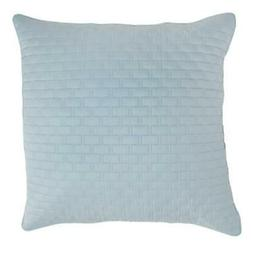 Bamboo Quilted Euro Sham, Sky, Euro