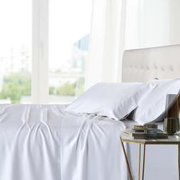 California King Bed Sheet Set- 100% Bamboo Ultra Cool Soft