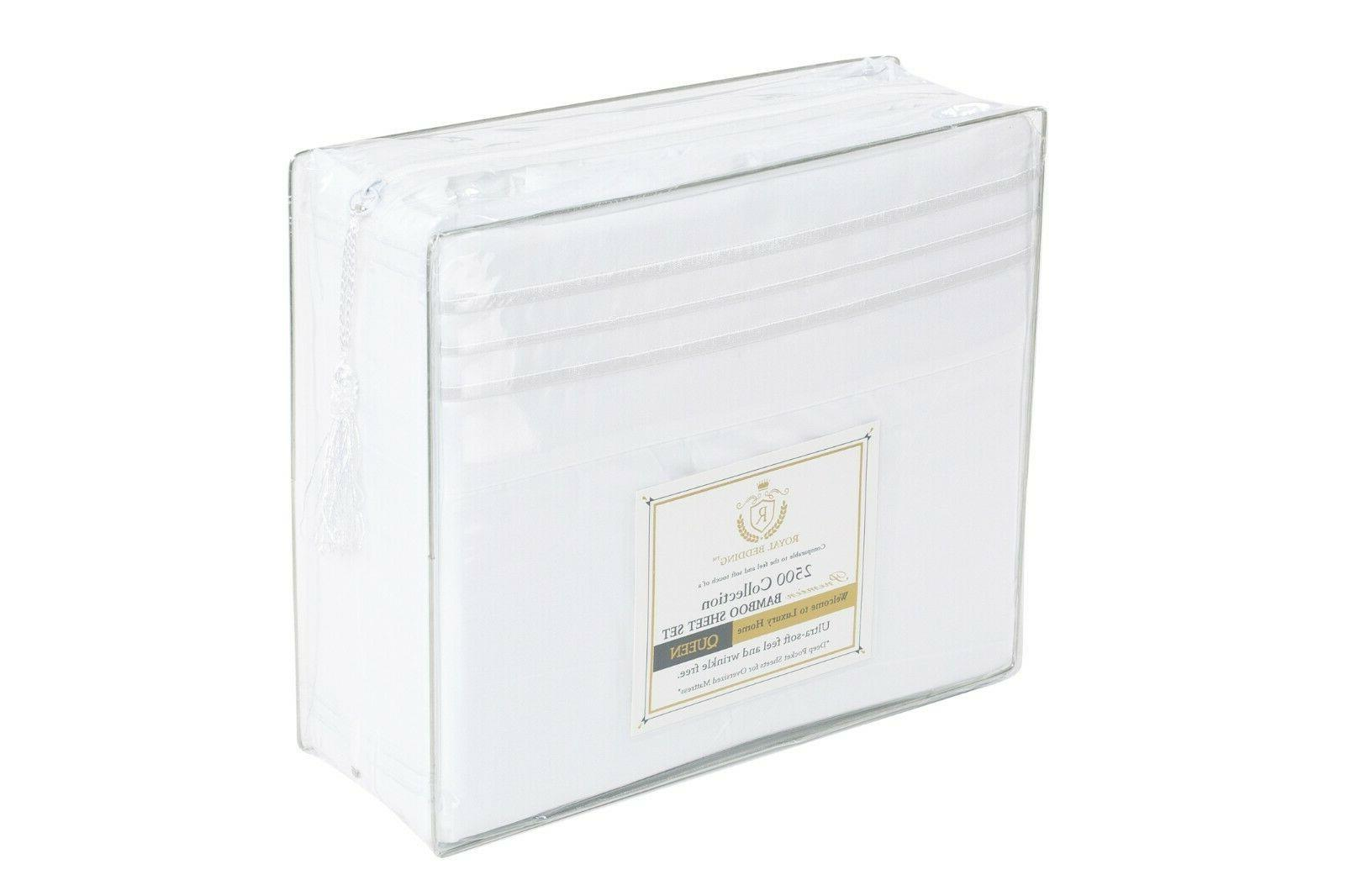 ROYAL BEDDING BAMBOO COLLECTION- SAVE 15% WHEN YOU BUY 2 LIMITED