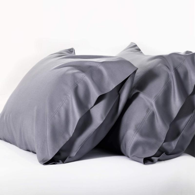 cooling bamboo pillowcases set of 2 breathable