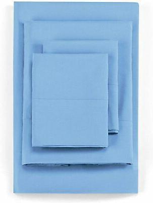 Olympic Queen Sheet 4 Piece Blend Sheets S