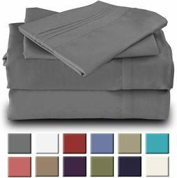 Okao Home Goods Luxury Bamboo Sheet Set Soft Hypoallergenic