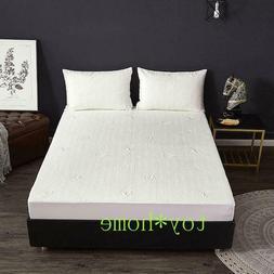 New Arrival Waterproof Bamboo Fiber Fitted Sheet Bedsheet Ma