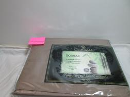 new bamboo fiber double sheet set 300