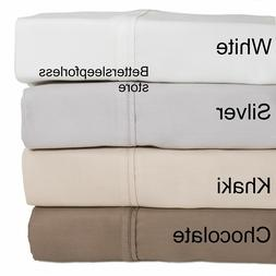 NEW Bamboo Sheet Set! Pick Size and Color! Free Shipping! Wi