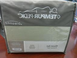 New Tempur-Pedic Dream-Fit SPLIT KING Size Sheets SAGE Bambo