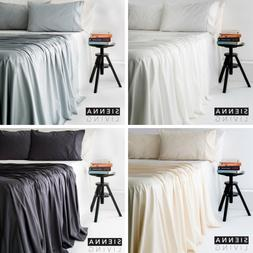 New Natural Bamboo Cotton Bed 400TC Thread Count Sheet Set,