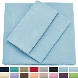 Cosy House Collection Premium Bamboo Sheets - Deep Pocket Be