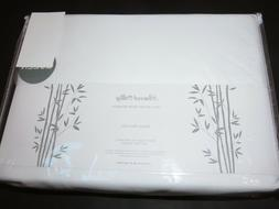 Peacock Alley Rayon from Bamboo 4P Queen sheet set White 300