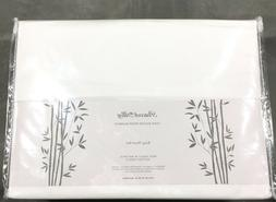 Solid White KING 100% BAMBOO Substantial Sheet Set PEACOCK A
