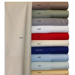Super soft and silky 100% Bamboo Hypo Allergenic 4PC Sheet S