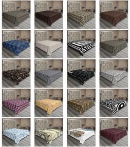 Ambesonne Tribal Boho Flat Sheet Top Sheet Decorative Beddin
