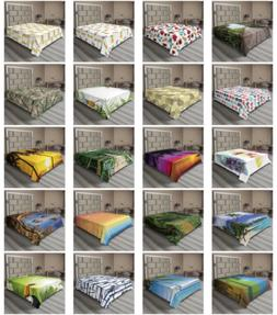 Ambesonne Tropical Pattern Flat Sheet Top Sheet Decorative B