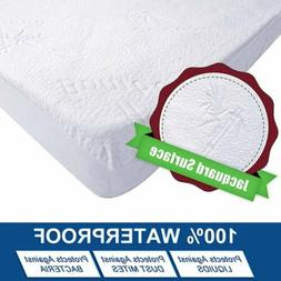 Waterproof Fitted Sheet Mattress Cover Pad Protector Ultra S